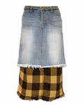 GRUNGY loose skirt